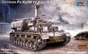 German Pz.Kpfw. IV Ausf D/E Fahrgestell in scale 1-35