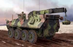 USMC LAV-R Light Armored Vechicle Recovery in scale 1-35