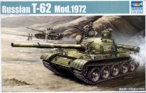 Tank model T-62 mod.1972 Trumpeter 00377