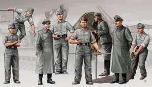 German Artillery Crew - Karl Gerat - in scale 1-35