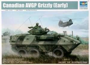Canadian armored vehicle AVGP Grizzly
