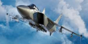 Russian MiG-31M Foxhound in scale 1-72