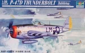 Model P-47D Thunderbolt Bubbletop 1:32