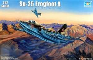 Soviet fighter Su-25 Frogfoot A in scale 1:32