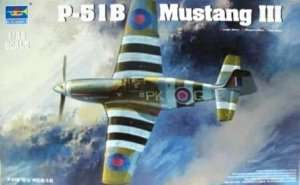 Model RAF Mustang Mk. III in scale 1:32