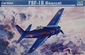 Model F8F-1B Bearcat scale 1:32