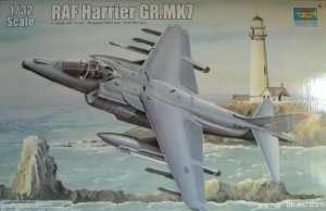 Model RAF Harrier Gr. MK.7 in scale 1:32