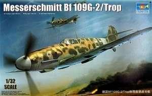 German WWII fighter Messerschmitt Bf109G-2/Trop 1:32