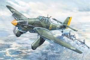 Junkers Ju-87A Stuka in scale 1-24