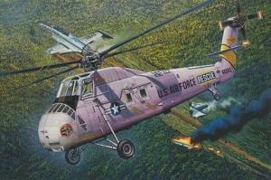 HH-34J USAF Combat Rescue model Trumpeter 02884 in 1-48