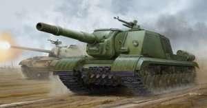 Soviet ISU-152K Armored Self-Propelled Gun in scale 1-35 Trumpeter 05591
