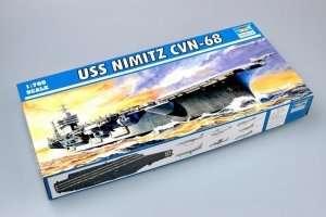 USS Nimitz CVN-68 1975 in scale 1-700