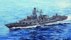 Russian Navy Slava Class Cruiser Marshal Ustinov model Trumpeter 05722