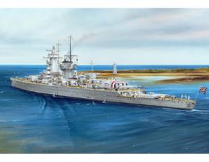 Admiral Graf Spee 1937 model Trumpeter 05773 in 1-700