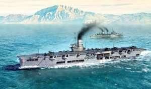 HMS Ark Royal 1939 in scale 1-700