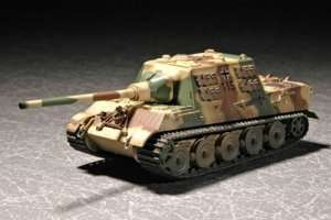German Sd.Kfz.186 Jagdtiger with Zimmerit in scale 1-72