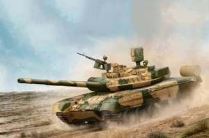 Russian T-80UM-1 MBT model Trumpeter in 1-35