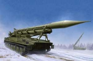 2P16 Launcher with Missile of 2k6 Luna FROG-5 model Trumpeter