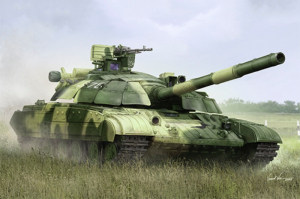 Ukraine T-64BM Bulat model Trumpeter 09592 in 1-35