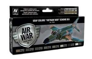 USAF Colors Vietnam War Scheme SEA Vallejo Acrylic airbrush colors