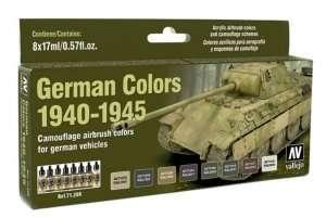 Model Air - German Colors 1940-45 8 x 17ml - Vallejo 71206