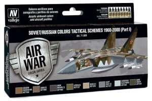 Set - Soviet/Russian colors tactical schemes 1960-2000 p.I