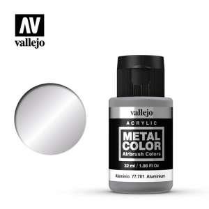 Aluminium 32ml Acrylic paint Metal Color Vallejo 77701