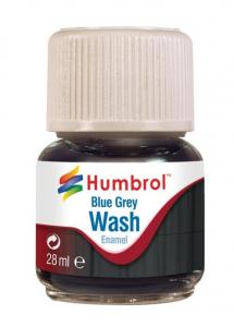 Humbrol AV0206 Enamel Wash Blue Grey 28ml