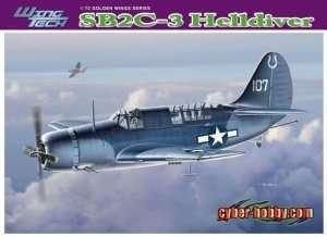 Dragon 5059 SB2C-3 Helldiver in scale 1-72