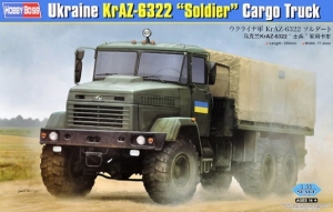 Model Hobby Boss 85512 Ukraine KrAZ-6322 Soldier Cargo Truck