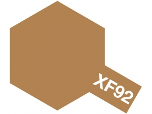 Acrylic paint mini XF-92 Yellow-Brown DAK 1941 Tamiya 81792 10ml