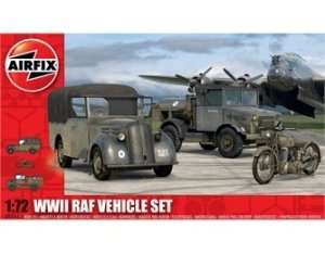 WWII RAF Vehicle Set scale 1:72