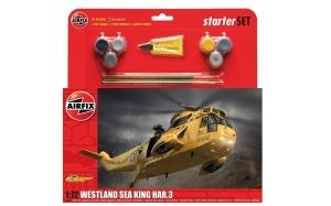 Model Airfix 55307 Westland Sea King HAR.3 Starter Set