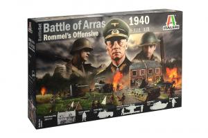 1940 Battle of Arras set Italeri 6118 in 1-72