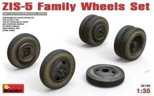 ZIS-5 Family Wheels Set in 1:35 MiniArt 35196