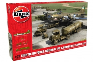 Eighth Air Force: Boeing B-17G and Bomber Re-supply Set Airfix A12010