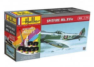 Model Set Spitfire Mk.XVIe Heller 56282 in 1-72