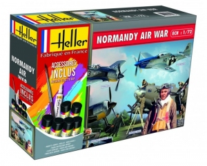 Model Set Normandy Air War Heller 53014 in 1-72