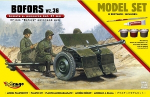 Bofors wz.36 anti-tank gun model set 835061