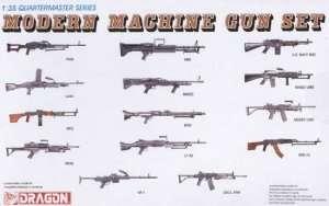 Modern machine gun set - Dragon 3806