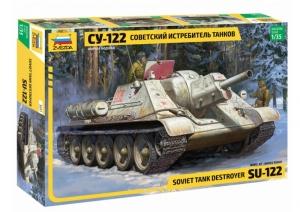 Soviet Tank Destroyer SU-122 model Zvezda 3691