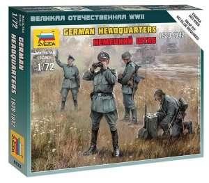 Zvezda 6133 Figurki - niemiecki sztab 1939-42