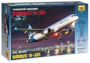 Airbus A-321 in scale 1-144