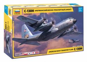 American Heavy Transport Plane C-130H model Zvezda 7321