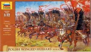 Polish Winged Hussars XVII A.D. in scale 1-72