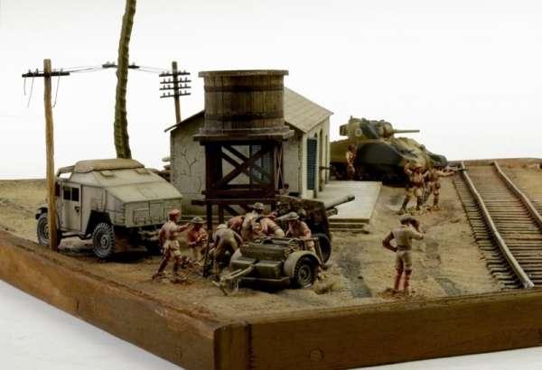 Battle Set El ALamein The Railway Station Italeri 6181 zestaw modelarski do sklejania image_1_ita6181_h-image_Italeri_6181_3