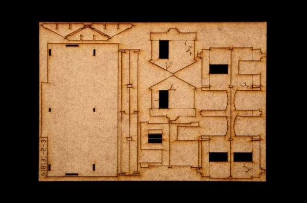 Battle Set El ALamein The Railway Station Italeri 6181 zestaw modelarski do sklejania image_1_ita6181_r-image_Italeri_6181_6
