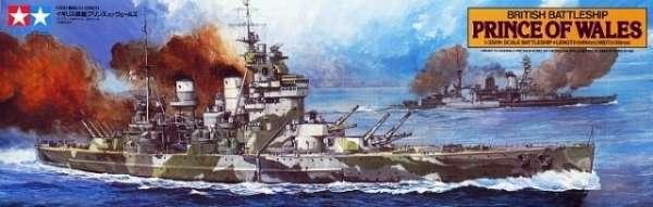 Tamiya 78011 w skali 1:350 - model British Battleship Prince of Wales - image a-image_Tamiya_78011_3