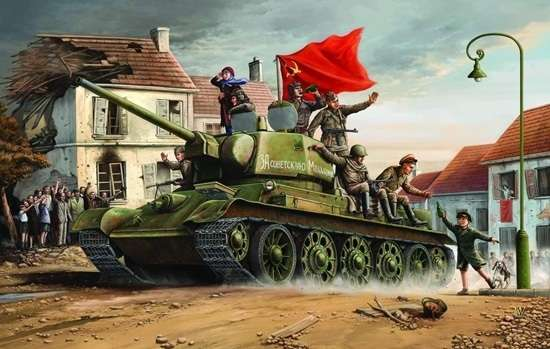 Trumpeter 00903 w skali 1:16 - model Soviet Tank T34/76 model 1943 - image p-image_Trumpeter_00903_3