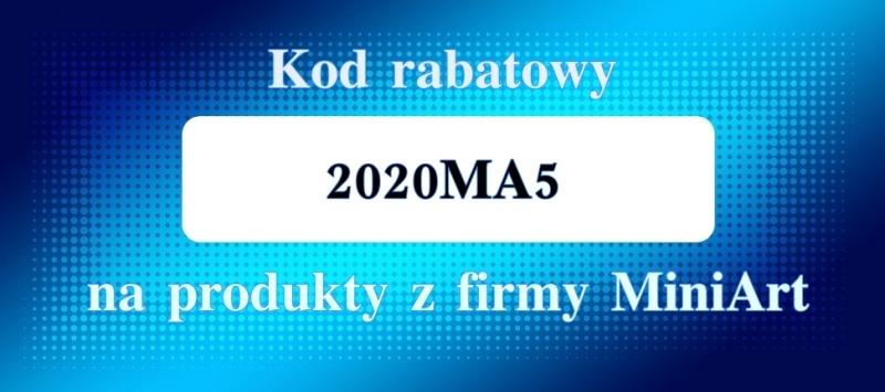 Kod rabatowy na produkty z firmy MiniArt